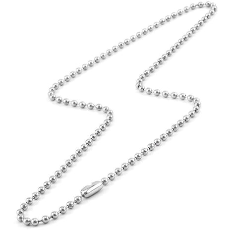 Ball Chain Necklace 30""