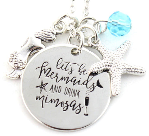 Let's Be Mermaids Necklace