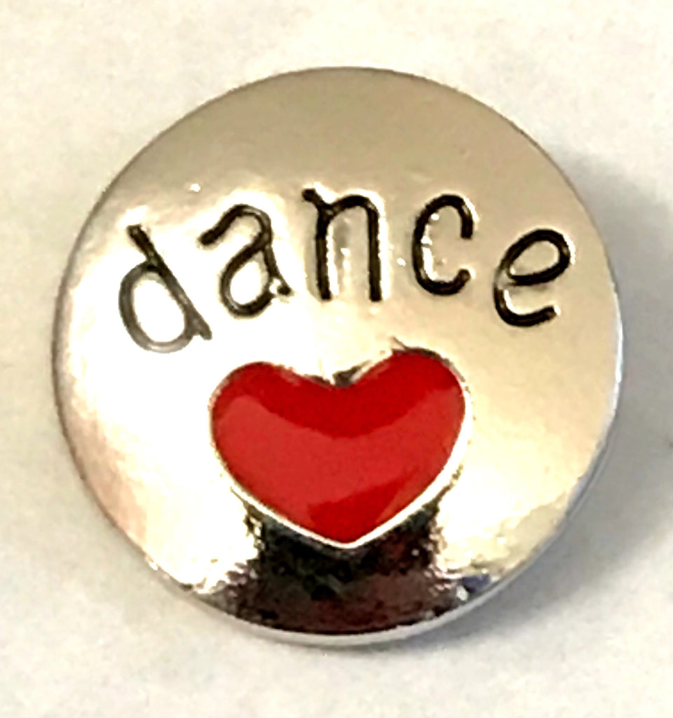 Love to Dance Snap Charm