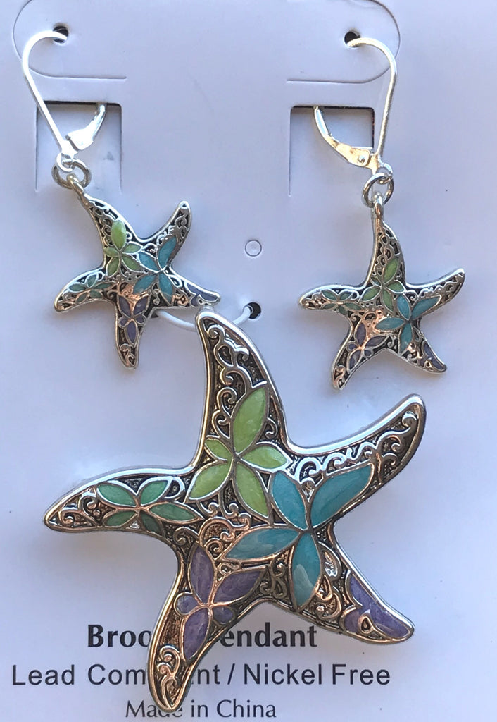 Star Fish Pastel Set