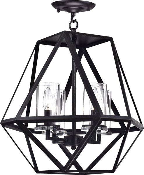 Bia 4 light Semi-Flush Mount Pendant
