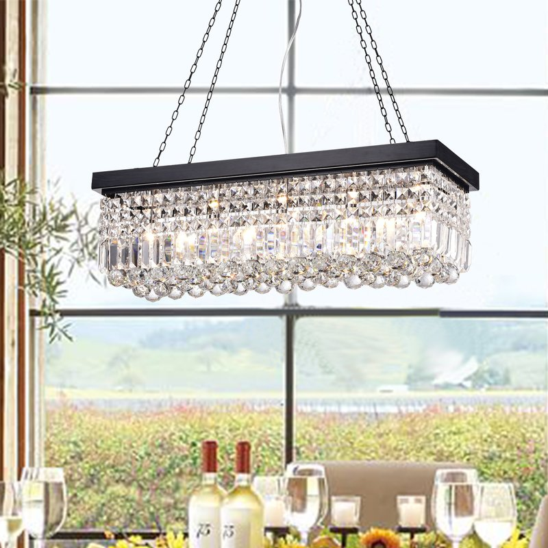 Tartarus 5 Light Chandelier - Brownish Black