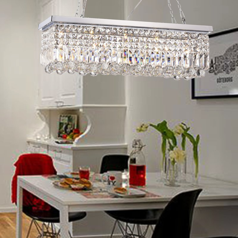 Tartarus 5 Light Chandelier - Chrome