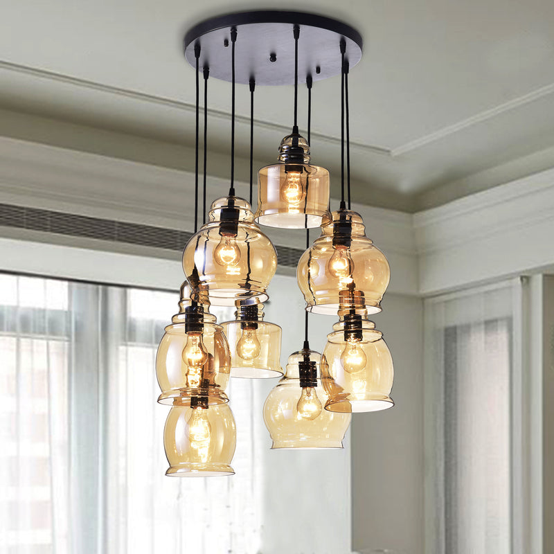 Achelous 8 Light Chandelier