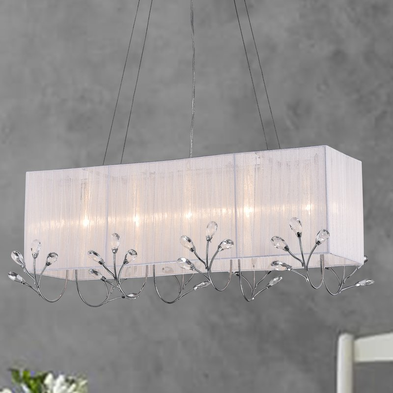 Brizo 5 light chandelier- Chrome