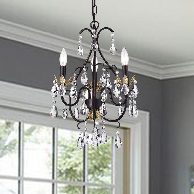 Deino 3 Light Candle Chandelier