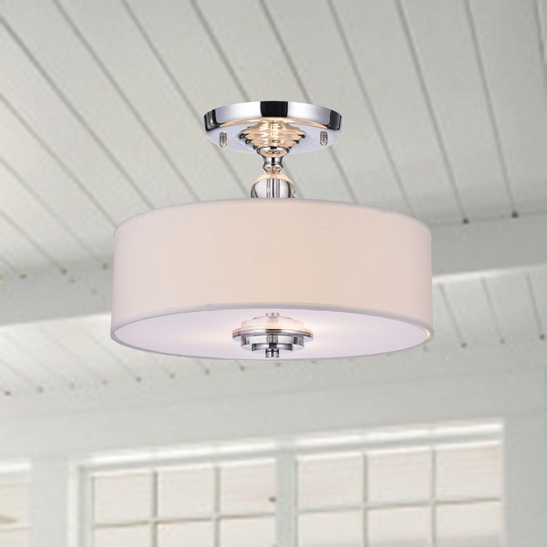Arethusa 3 Light Flush Mount