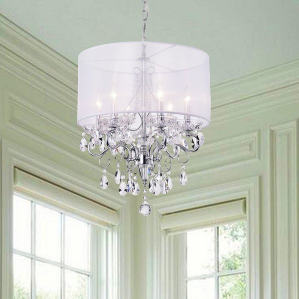 Nilus 6 Light Chandelier