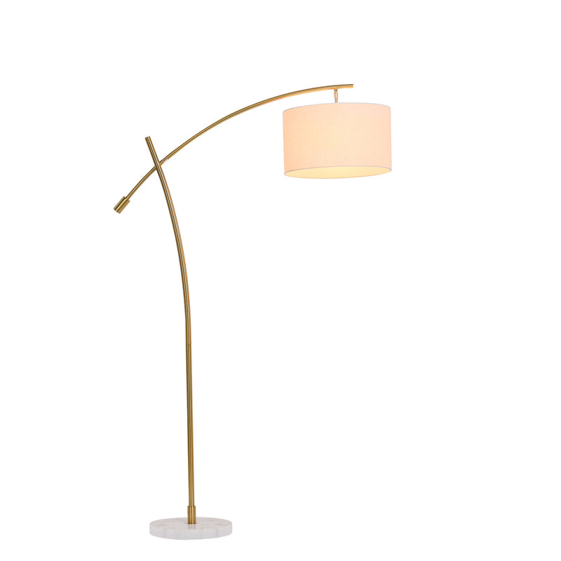 Moderno Copper finish Arched Floor lamp