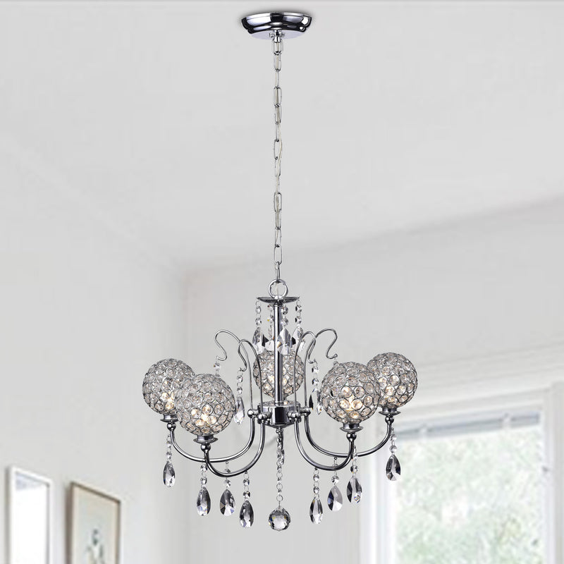 Adikia 5 Light Chandelier