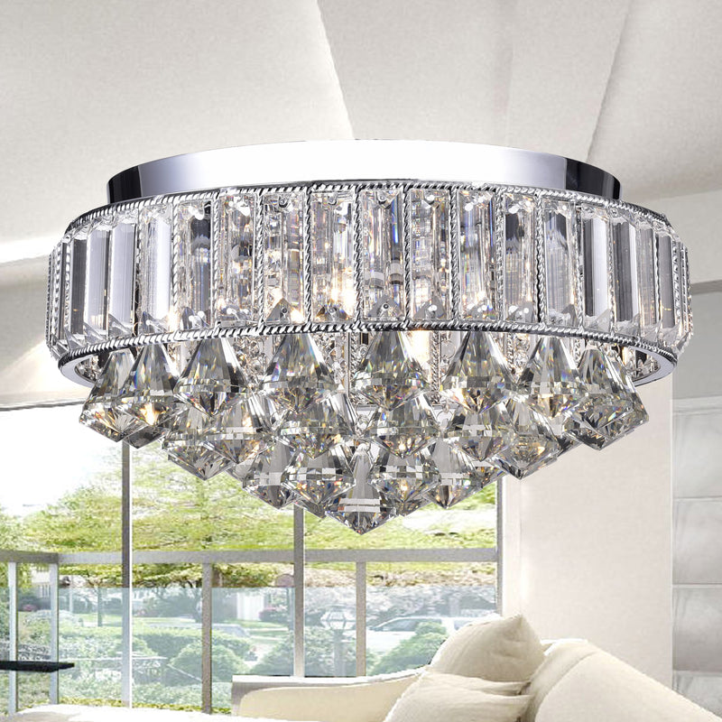 Theia 4 Light Flush Mount