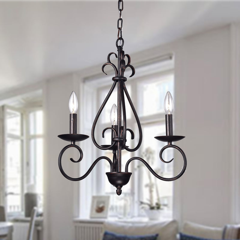 Oceanus 3 Light Chandelier