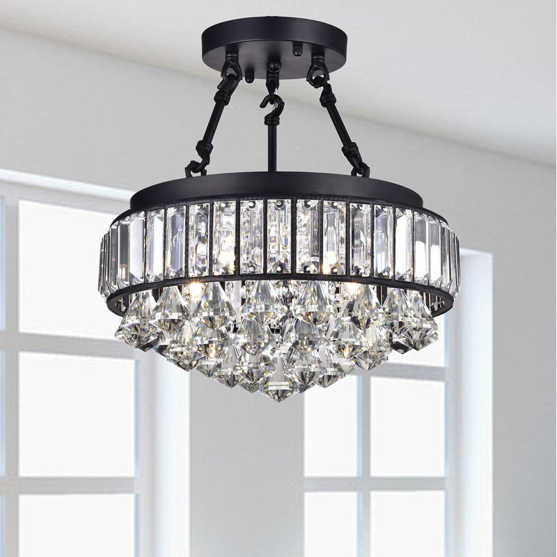 Tityos 4 Light Semi-Flush Mount