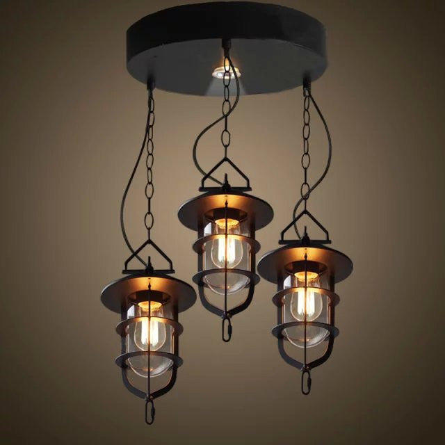 Dyssebeia 3 Light Pendant