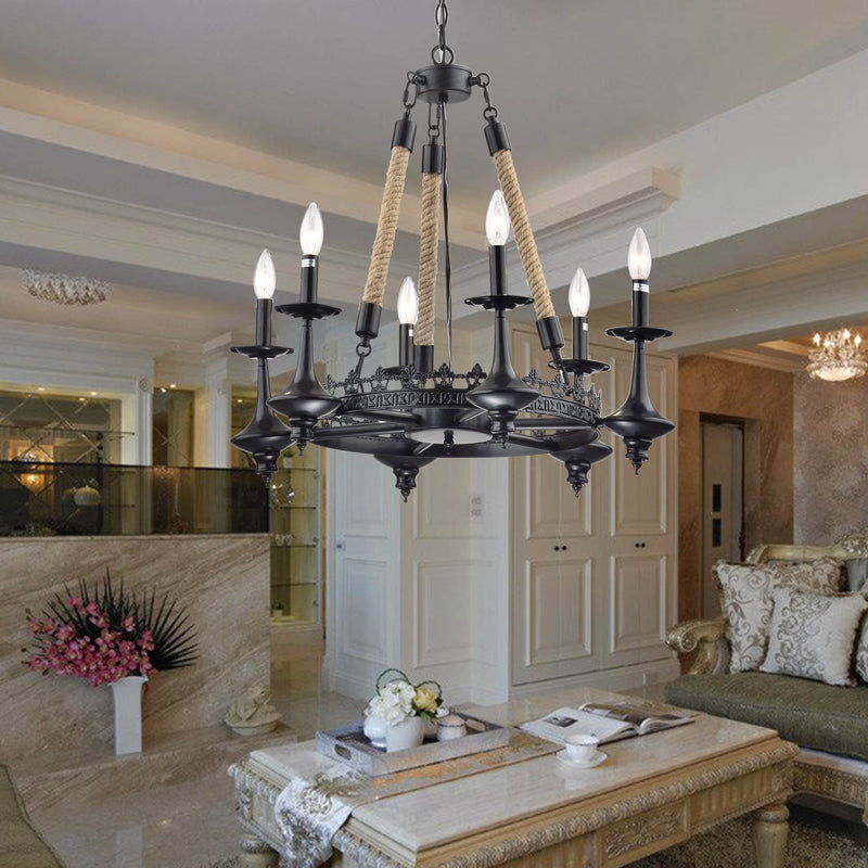 Eirene 8 Light Candle Chandelier