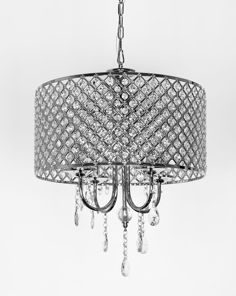 Diana 4 Light Drum Chandelier