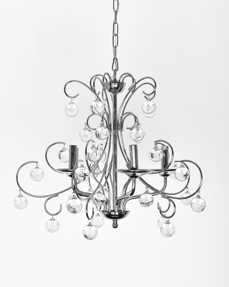 Apollo 5 Lights Crystal Chandelier