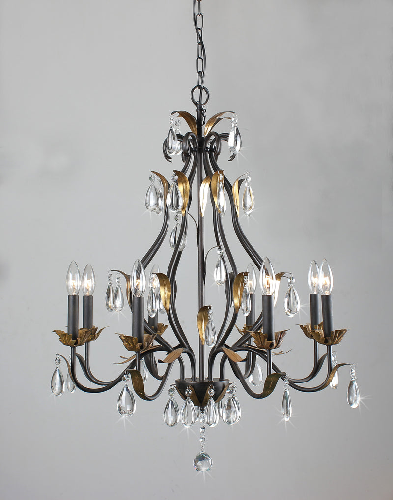 Juno 8 Light Candle Chandelier