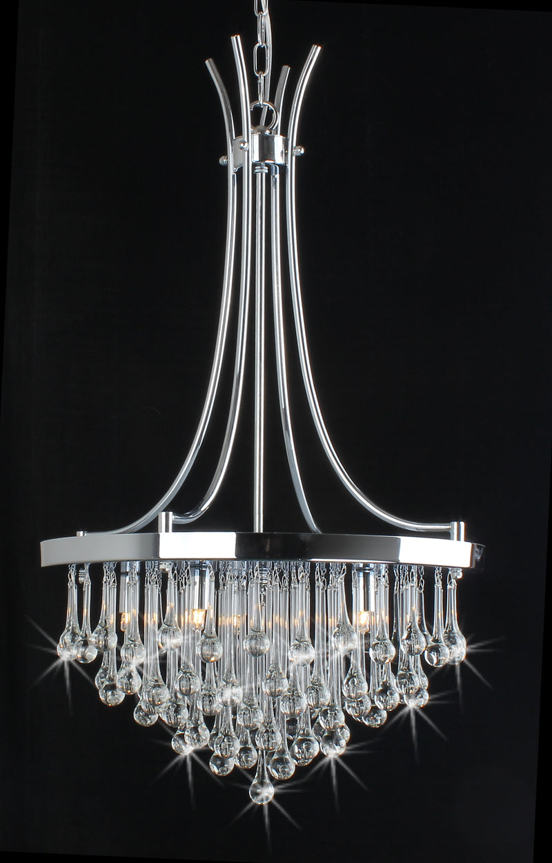 Bacchus 5 Light Crystal Chandelier