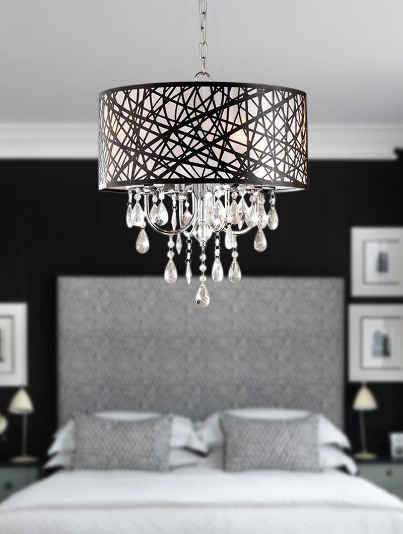 Erebus 4 Light Drum Chandelier