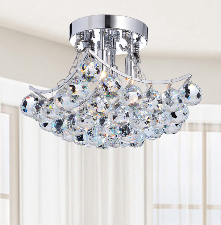 Nesio 4 Light Semi Flush Mount