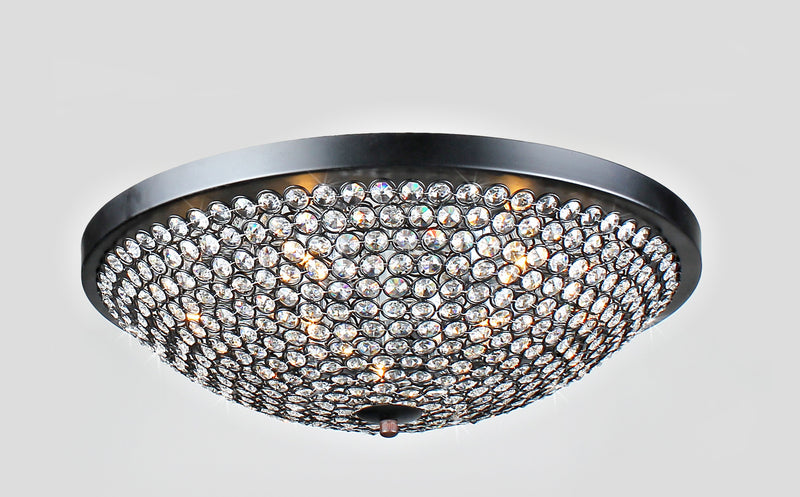 Plallas 9 Light Flush Mount