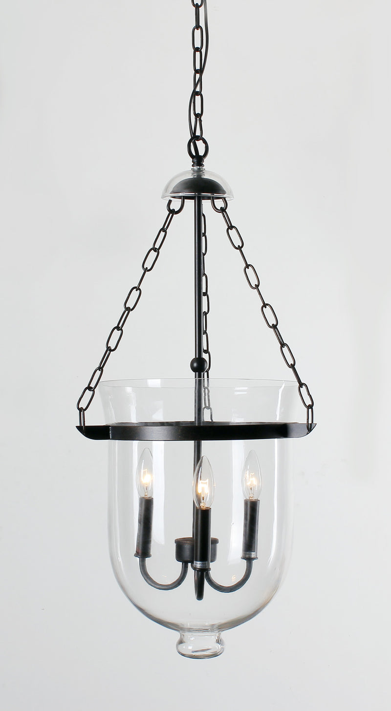 Vesta 3 Light Bowl Pendant