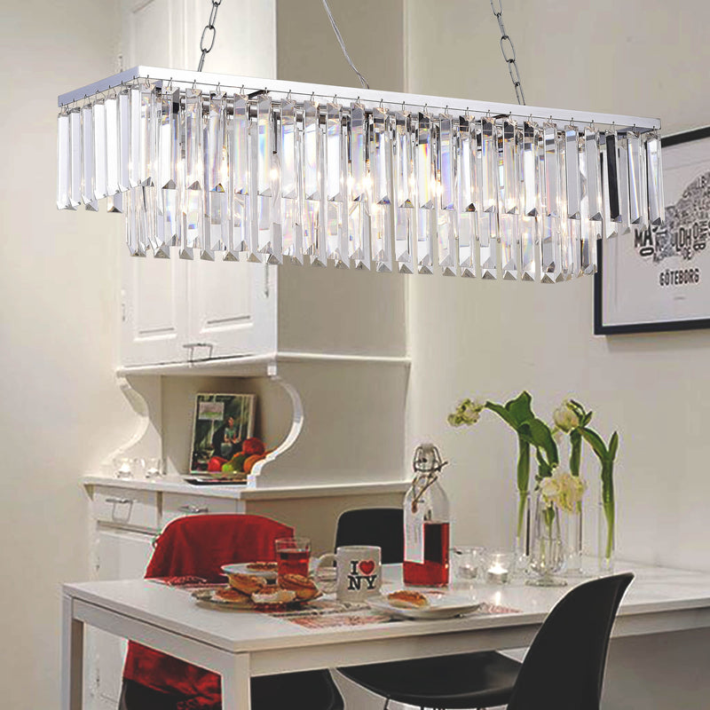 Horme 5 Light Chrome Chandelier