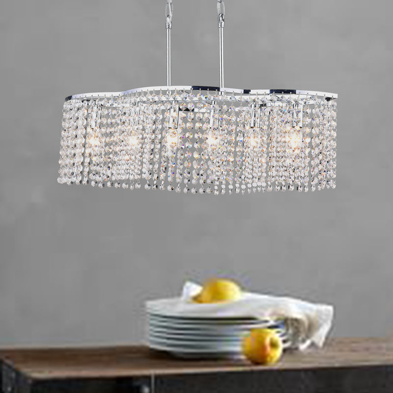 Lethe 6 Light Chandelier