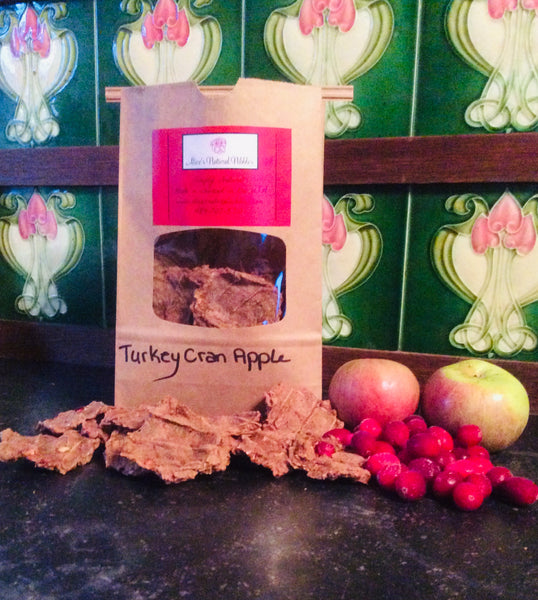 Turkey Cranberry Apple Nibbles 1/2 lb size