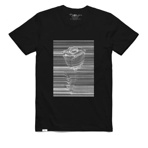 Rose Black T-shirt