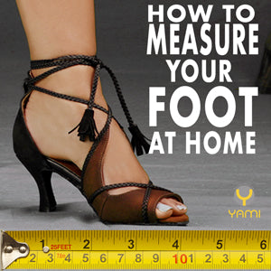 Measure Your Foot at Home
