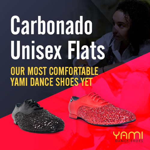 Carbonado Unisex Flats: Our Most Comfortable Yami Dance Shoes Yet