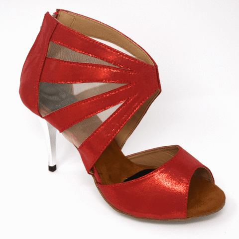 Latin dance shoes Melody Rouge