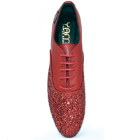 Red Fire Carbonado Unisex Flats