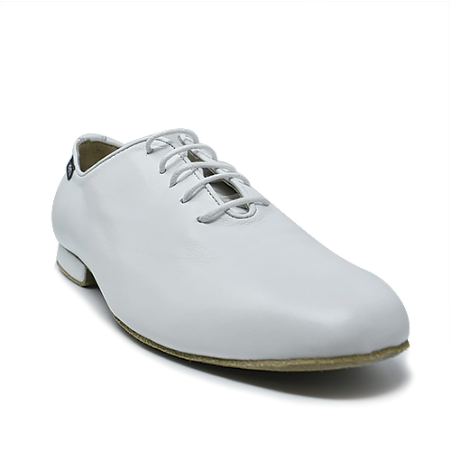 Mambo White Performance  Unisex Dance Shoe Flats