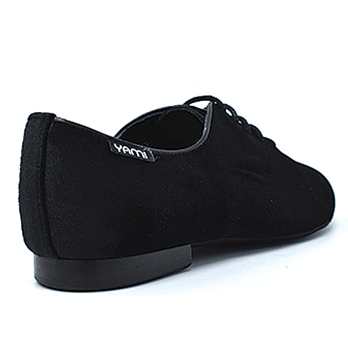 Mambo Black Velvet Performance  Unisex Dance Shoe Flats
