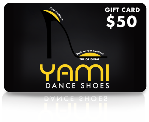$50 Dance Shoe Gift Card