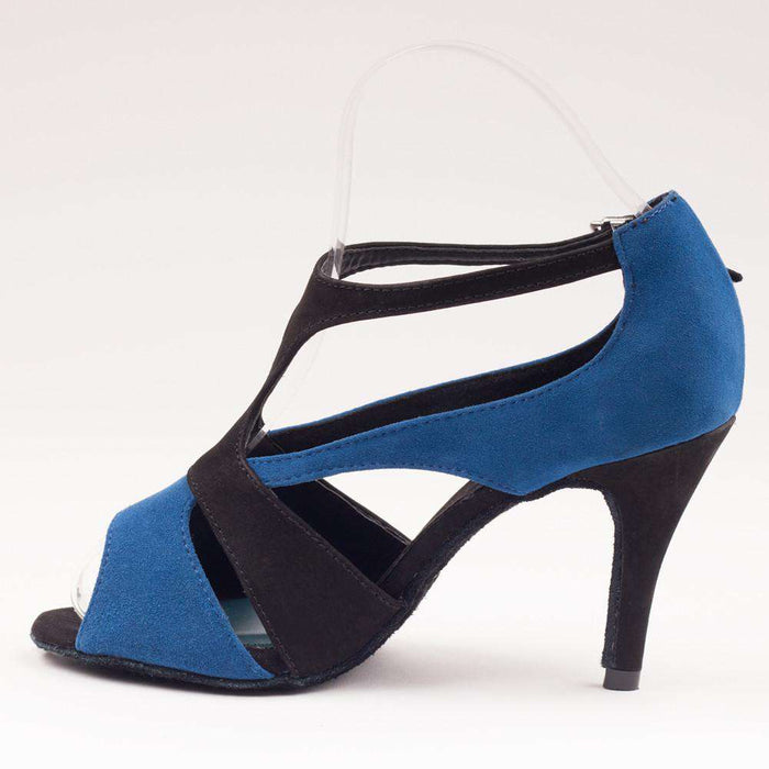 Yami Dance Shoes Dance Shoes Tamia Blue & Black