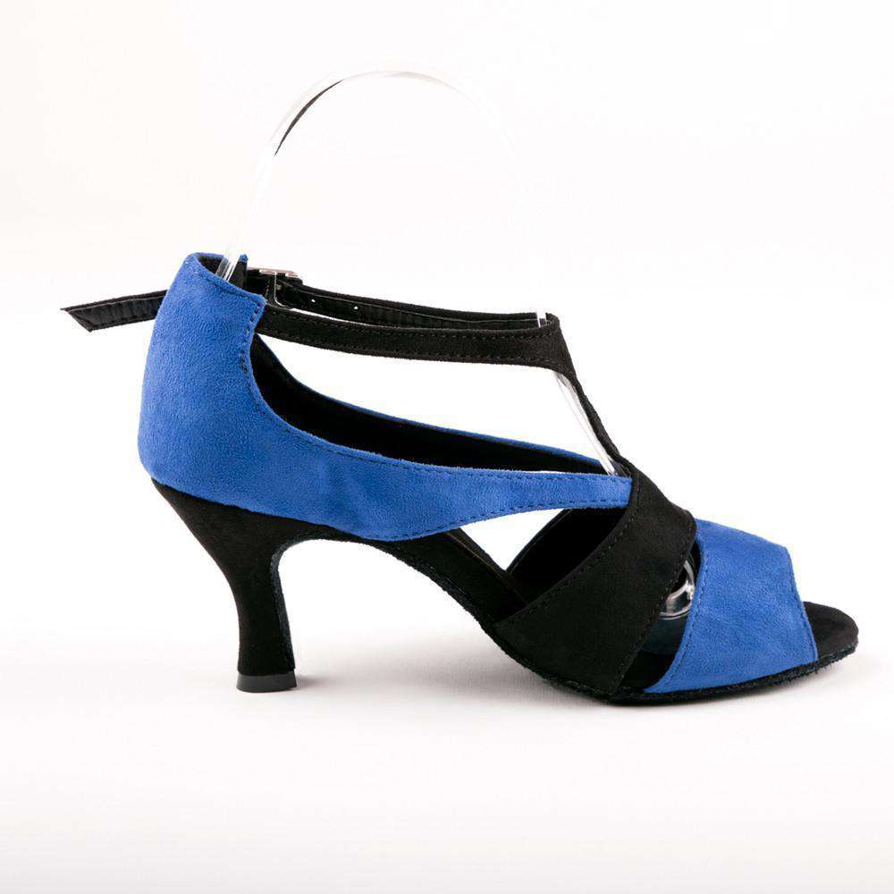 Tamia Blue & Black - Yami Dance Shoes