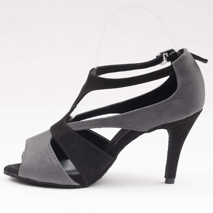 Yami Dance Shoes Dance Shoes Tamia Grey & Black