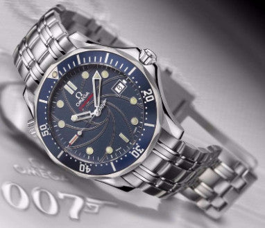 "Omega James Bond Replica 007 ""40th Anniversary"" Mens Watch - TheBestReplicaWatches.com"