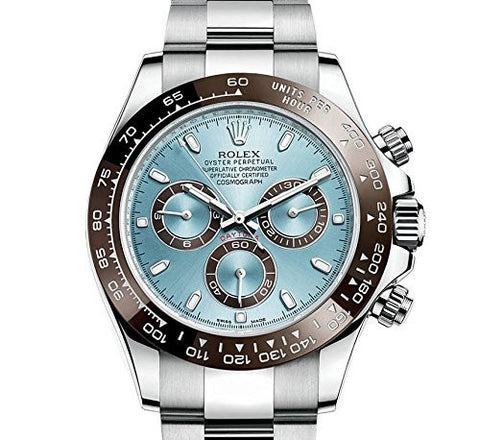 "Rolex Daytona Replica ""Ice Blue"" Dial Men's Wristwatch 40mm - TheBestReplicaWatches.com"