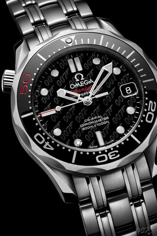 "Omega Seamaster Replica James Bond 007 ""50 Years"" Mens Watch - TheBestReplicaWatches.com"