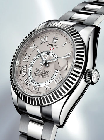 "Rolex Sky-Dweller Replica ""Dual Time Zone"" Stainless Steel Mens Watch - TheBestReplicaWatches.com"