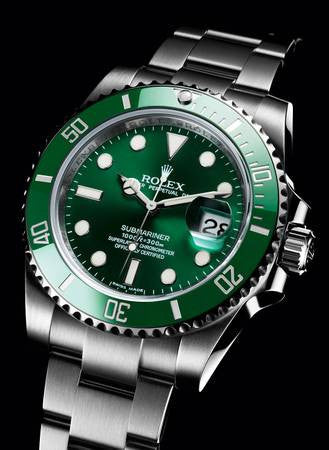 "Rolex Submariner ""Hulk"" Green Bezel/Dial Mens Wristwatch - Price Reduced"