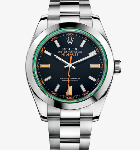 Rolex Milgauss Black Dial Mens Watch - TheBestReplicaWatches.com