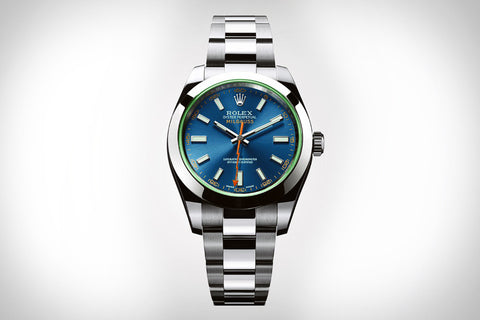 "Rolex Milgauss Blue ""Sunray Dial""  Stainless Steel Mens Watch - Price Reduced"