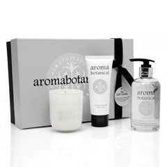 3 piece gift pack – candle, hand cream, body lotion