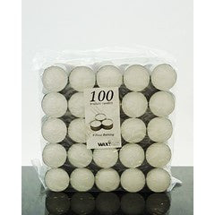 9 Hour tealight candles - 100 pack